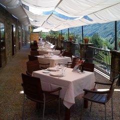 Отель Parador De Bielsa Huesca столовая на открытом воздухе