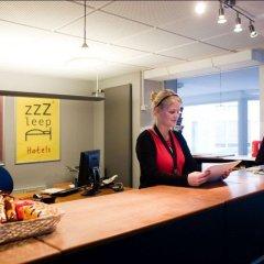 Отель Zleep Hotel Aalborg Дания, Алборг - отзывы, цены и фото номеров - забронировать отель Zleep Hotel Aalborg онлайн интерьер отеля