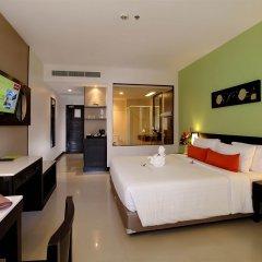 Отель Deevana Plaza Phuket 4* Улучшенный номер с различными типами кроватей фото 5