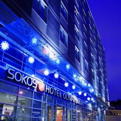 Гостиница Sokos Olympia Garden вид на фасад