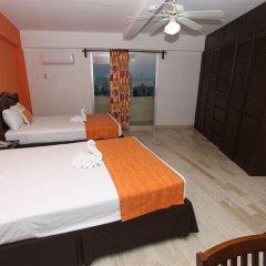 Отель Calypso Hotel Cancun Мексика, Канкун - отзывы, цены и фото номеров - забронировать отель Calypso Hotel Cancun онлайн комната для гостей фото 6