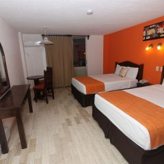 Отель Calypso Hotel Cancun Мексика, Канкун - отзывы, цены и фото номеров - забронировать отель Calypso Hotel Cancun онлайн комната для гостей фото 7