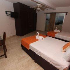 Отель Calypso Hotel Cancun Мексика, Канкун - отзывы, цены и фото номеров - забронировать отель Calypso Hotel Cancun онлайн комната для гостей фото 8