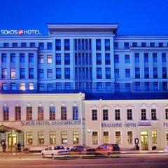 Гостиница Solo Sokos Vasilievsky вид на фасад