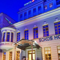 Гостиница Solo Sokos Vasilievsky фасад