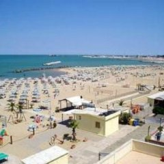 Отель Gamma Италия, Римини - отзывы, цены и фото номеров - забронировать отель Gamma онлайн пляж