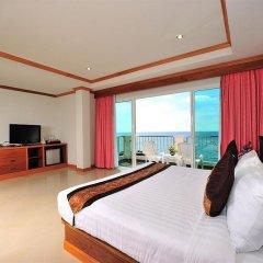 Отель Tri Trang Beach Resort by Diva Management 4* Номер Делюкс разные типы кроватей фото 5