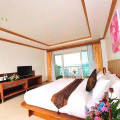 Отель Tri Trang Beach Resort by Diva Management 4* Улучшенный номер разные типы кроватей
