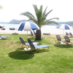 Отель Akti Aphrodite пляж фото 2