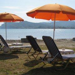 Отель Akti Aphrodite пляж