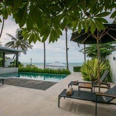 Отель The Sea Koh Samui Boutique Resort & Residences Самуи открытая веранда