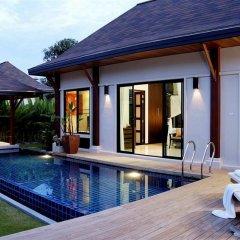 Отель Two Villas Holiday Oriental Style Layan Beach бассейн
