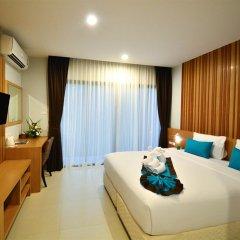 Отель Nai Yang Beach Resort & Spa 4* Улучшенный номер с различными типами кроватей