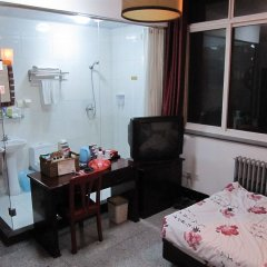 Отель Beijing Hutong Culture Inn комната для гостей