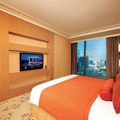Отель Marina Bay Sands 5* Люкс Orchid с двуспальной кроватью