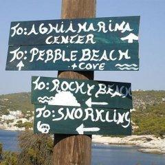 Отель Seaside Village Rooms Греция, Эгина - отзывы, цены и фото номеров - забронировать отель Seaside Village Rooms онлайн приотельная территория