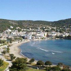 Отель Seaside Village Rooms Греция, Эгина - отзывы, цены и фото номеров - забронировать отель Seaside Village Rooms онлайн пляж фото 3