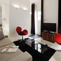 Отель Helzear Montorgueil Apartments Франция, Париж - отзывы, цены и фото номеров - забронировать отель Helzear Montorgueil Apartments онлайн комната для гостей фото 2