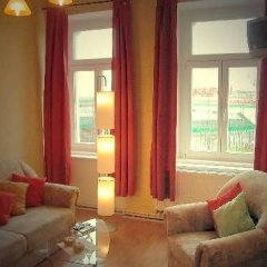 Апартаменты Guesthouse-Apartments-Leizpig комната для гостей