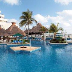 Отель Royal Solaris Cancun - Все включено Мексика, Канкун - 8 отзывов об отеле, цены и фото номеров - забронировать отель Royal Solaris Cancun - Все включено онлайн бассейн фото 9