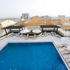 Отель Al Nawras Hotel Apartments ОАЭ, Дубай - 2 отзыва об отеле, цены и фото номеров - забронировать отель Al Nawras Hotel Apartments онлайн бассейн