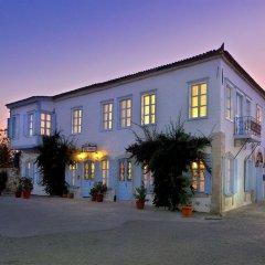 Отель Alacatı Tas Otel Чешме вид на фасад