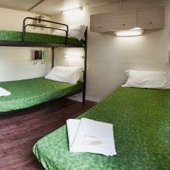 Отель Camping Village Roma Бунгало с различными типами кроватей