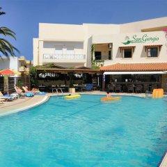 Отель San Giorgio бассейн