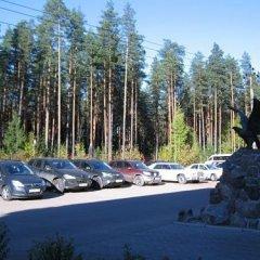 Загородный отель Райвола парковка