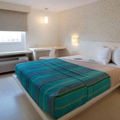 Отель City Express Junior Cancun Мексика, Канкун - отзывы, цены и фото номеров - забронировать отель City Express Junior Cancun онлайн комната для гостей фото 3