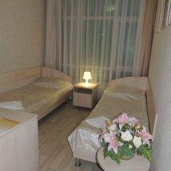 Гостиница Солнечная Стандартный номер с разными типами кроватей фото 26