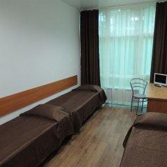 Гостиница Солнечная Кровать в общем номере с двухъярусными кроватями