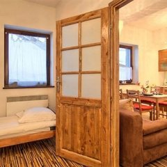 Отель VISITzakopane Tatra Apartments Польша, Закопане - отзывы, цены и фото номеров - забронировать отель VISITzakopane Tatra Apartments онлайн комната для гостей фото 5