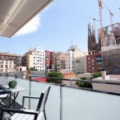 Апартаменты Sensation Sagrada Familia балкон