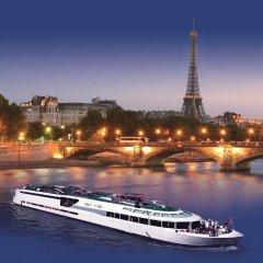 Отель VIP Paris Yacht Hotel Франция, Париж - отзывы, цены и фото номеров - забронировать отель VIP Paris Yacht Hotel онлайн приотельная территория фото 2