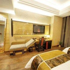 Отель Tangdi Boutique Hotel Китай, Сиань - отзывы, цены и фото номеров - забронировать отель Tangdi Boutique Hotel онлайн комната для гостей фото 2
