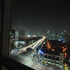 Отель Golden Forest Residence Южная Корея, Сеул - отзывы, цены и фото номеров - забронировать отель Golden Forest Residence онлайн балкон