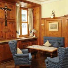 Hotel Blauer Bock лобби