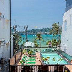 Patong Swiss Hotel Beach Front открытый бассейн фото 5