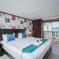 Patong Swiss Hotel Beach Front комната для гостей фото 9