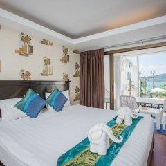 Patong Swiss Hotel Beach Front комната для гостей фото 10