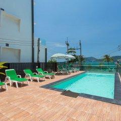 Patong Swiss Hotel Beach Front открытый бассейн фото 4