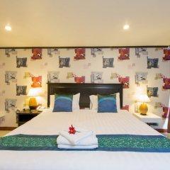Patong Swiss Hotel Beach Front комната для гостей фото 11