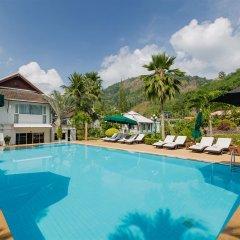 The Serenity Golf Hotel открытый бассейн фото 4