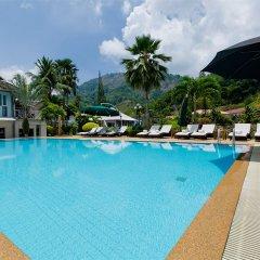 The Serenity Golf Hotel открытый бассейн фото 7