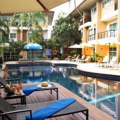 Отель Wonderful Pool house at Kata открытый бассейн