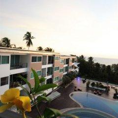 Апартаменты Karon Serviced Apartment балкон фото 4