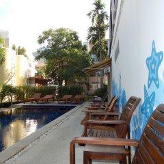 Отель Jinta Andaman открытый бассейн
