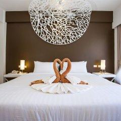 Отель Coral Inn 3* Улучшенный номер разные типы кроватей фото 4