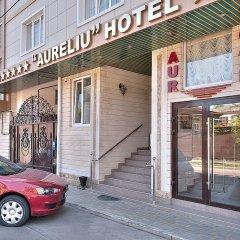 Гостиница Аурелиу вход в здание
